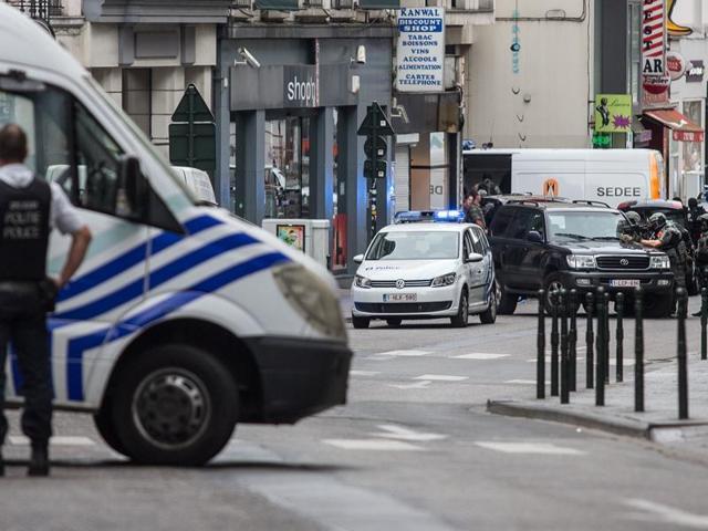 Brussels bomb alert