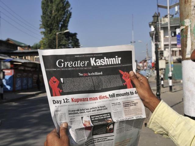 Media gag in Kashmir