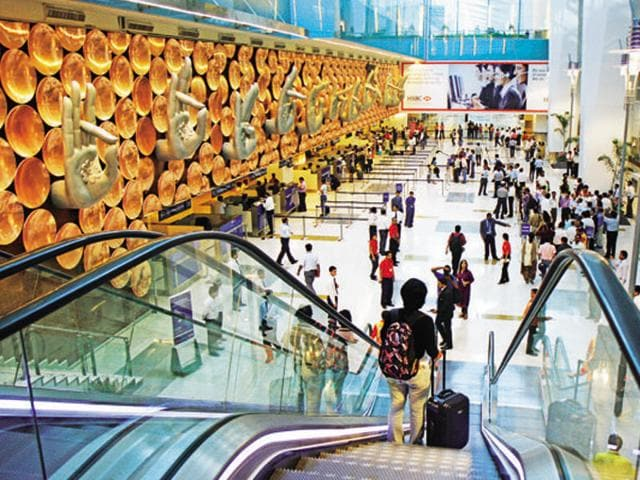 Two friends travelling form Delhi airport had to go through a pat down search and thorough interrogation after they uttered 'bomb' while standing in a queue for boarding.