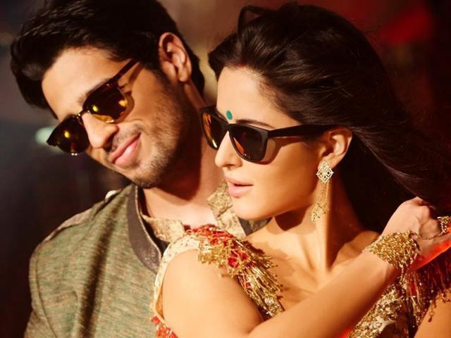Katrina Kaif and Sidharth Malhotra in complete party mood for Kala Chashma - a song from Baar Baar Dekho.
