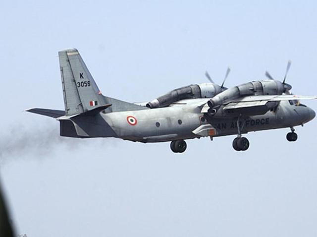 A File photo of an Indian Air Force AN-32 carrier plane.