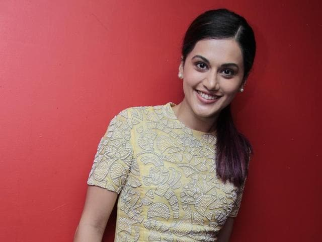 Actor Taapsee Pannu says she will never shift completely to Bollywood.