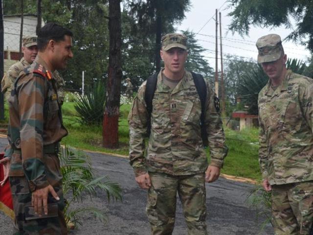 Indo-US officials meet at Chaubatia (Ranikhet).