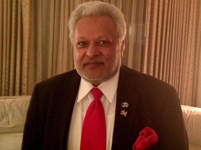 """Chicago-based Shalabh """"Shalli"""" Kumar, who heads the Republican Hindu Council (RCH) told a group of Indian reporters Thursday that he and his family have already donated $1.1 million to the Trump Campaign."""