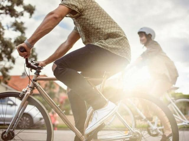 Researchers compared the daily modes of transport of several men and women, which revealed that cycling was one of the most effective forms of exercise.