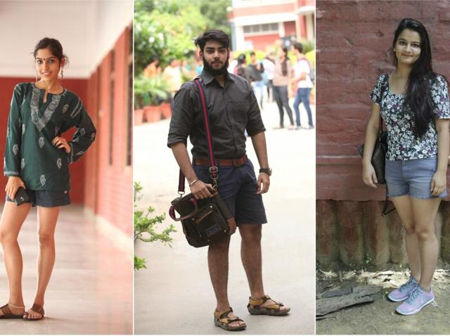 Students in DU are keeping their wardrobe   summer-friendly, and a favourite item in their closet is a pair of comfy shorts.