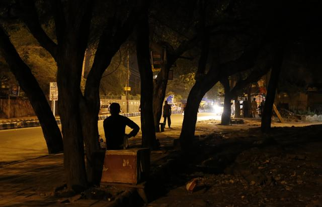 From the CDR Chowk to the main Chhatarpur road, it has been a hub of anti-social elements.