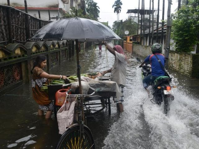 Flood warning have been issued in several parts of the country.