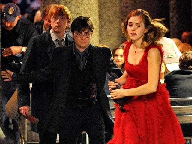A still from Harry Potter and Deathly Hallows.
