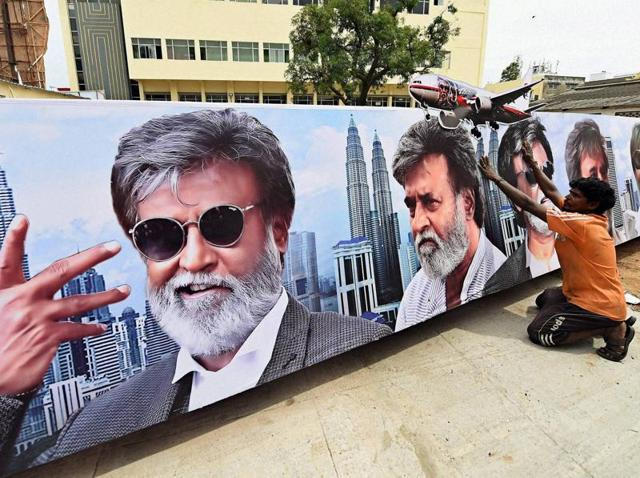 B-Town has caught the Rajini fever that is gripping the nation right now with Kabali hitting the theatres today.
