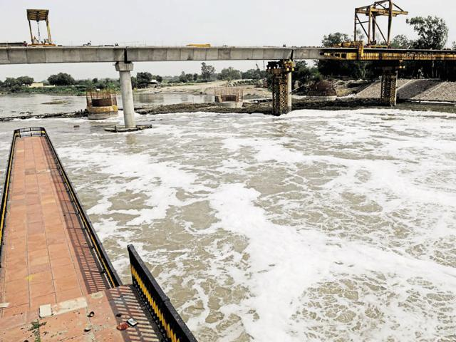 Yamuna's water level has touched 204.22 metres, which is considered a warning sign.