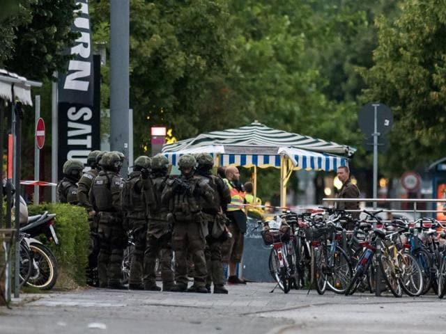 Munich terror attack,Munich shootout,Munich shopping centre
