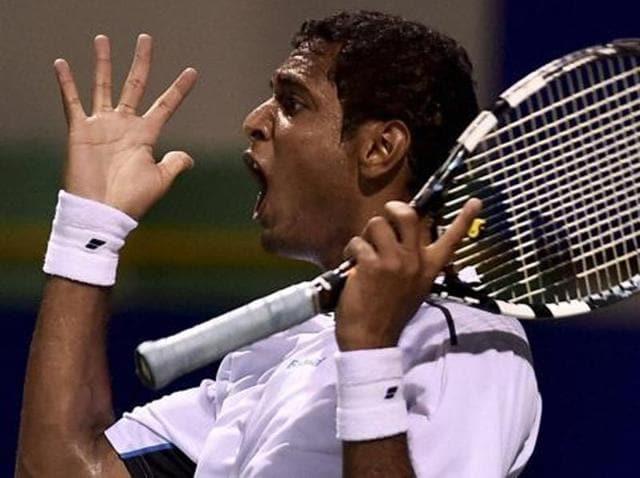A file photo of Indian tennis player Ramkumar Ramanathan.