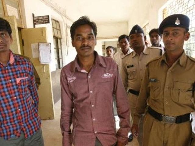 Somaru Nag, a journalist who ran a news agency for Rajasthan Patrika, was acquitted of charges of Maoist-link.(Arun Sharma/ HT File Photo)