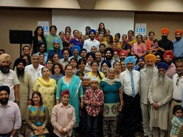 The money was raised at an event organised in Salt Lake by the National Sikh Campaign's media initiative.
