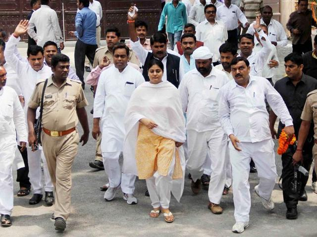 Minister of state for health and family welfare Anupriya Patel condemned Mayawati's approval of a vicious campaign against ex-BJP leader Dayashankar Singh's family.