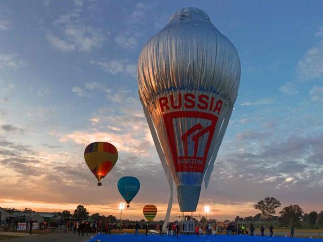Russian hot-air balloon