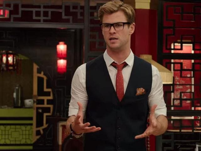 Chris Hemsworth,Ghostbusters,Chris Hemsworth dance sequence