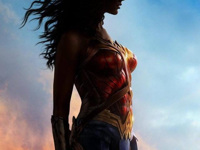 The first poster of Wonder Woman was revealed on Friday, adding to the buzz around the movie that is set for a Comic Con introduction at San Diego.