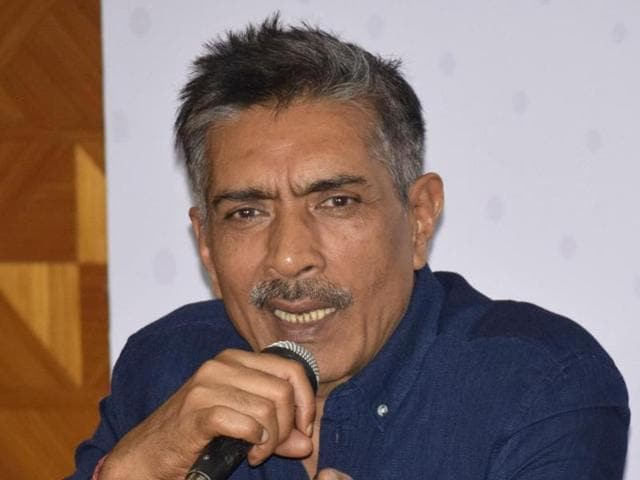 Guwahati: Filmmaker Prakash Jha addresses a press conference during the inaugural session of Brahmaputra Valley Film Festival in Guwahati on July 22.