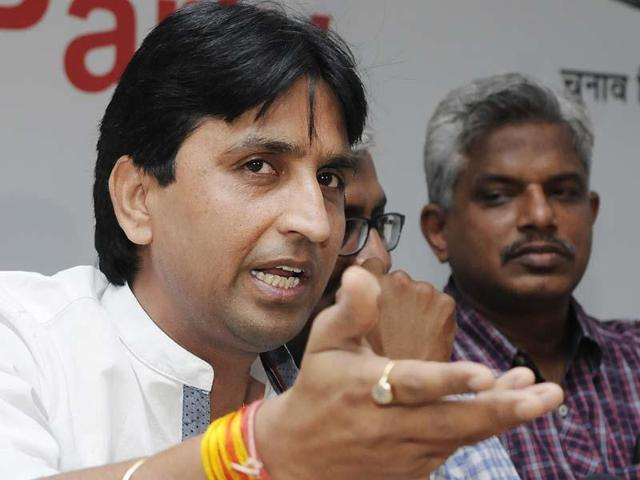 Aam Aadmi Party leader Kumar Vishwas was granted bail in two cases, lodged against him during Lok Sabha polls in 2014.