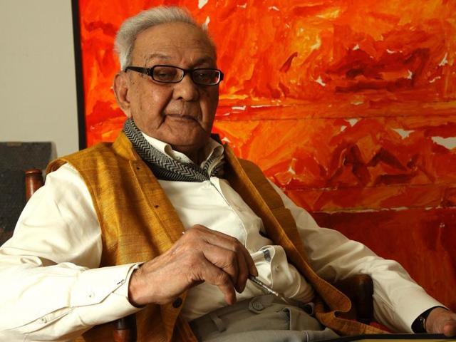Syed Haider Raza was 94.