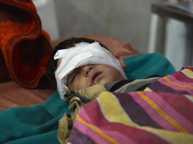 Kashmir turmoil,High court,Pellet guns