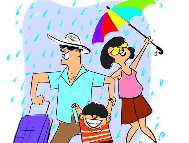 Mumbai,Monsoon,Travelling