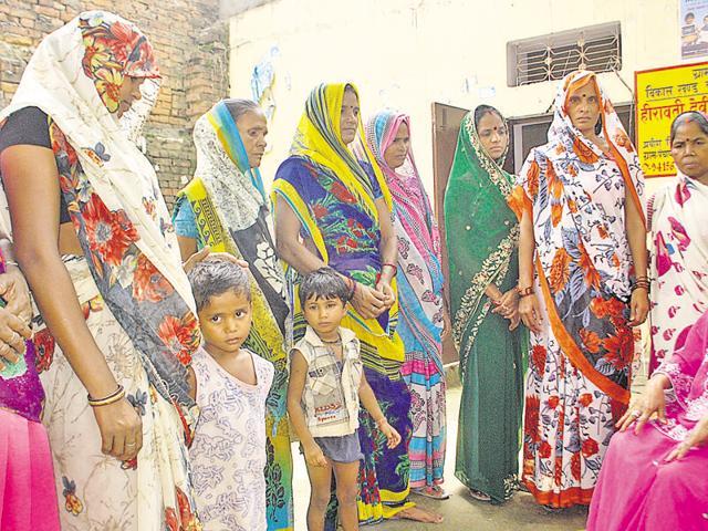 Heerawati Devi,Bhitari village panchayat,Manwa Base La Gaon Me