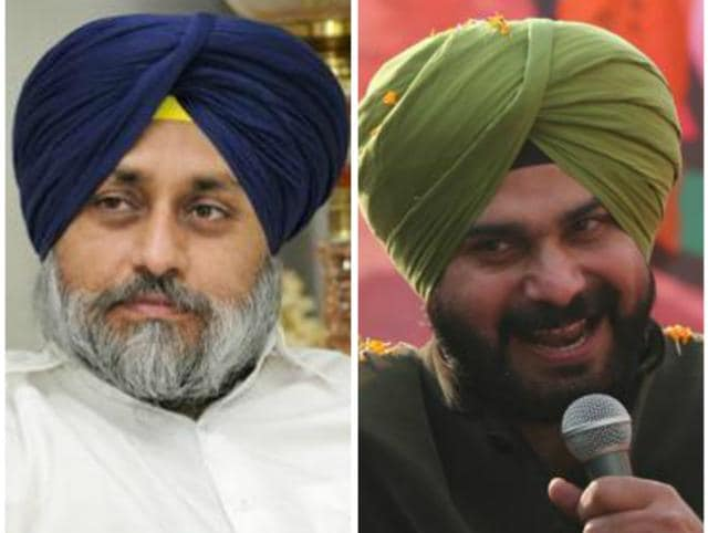 """Perfect title for the upcoming Punjab elections, I thought. And surely enough, I got my chance to post it when Navjot Singh Sidhu announced his resignation from the Rajya Sabha."""