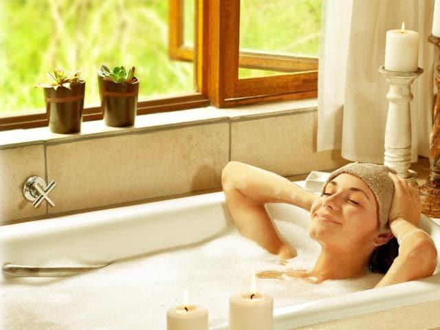 Sauna,Hot Bath,Exercise