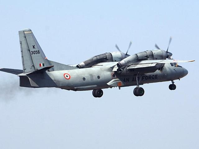 File photo of an Indian Air Force AN-32 transport aircraft