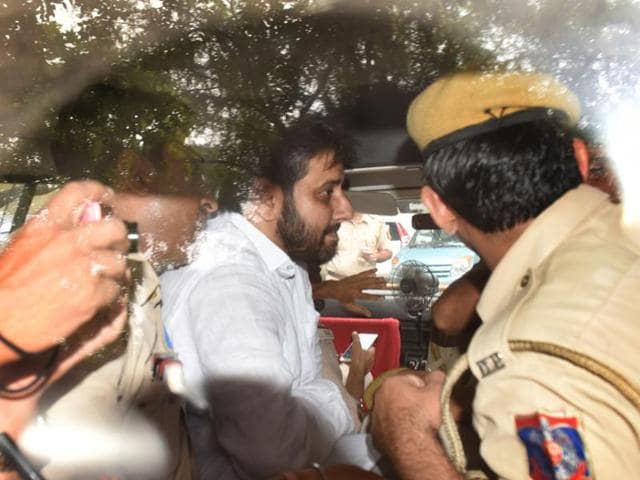 MLA Amanatullah Khan was arrested by the Delhi Police on Sunday for allegedly abusing a woman.