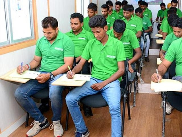 The faculty of engineering colleges will provide training to unemployed youth, including school dropouts, as the government kicks off plan that aims at imparting skills to over 10 lakh people to make them employable in the next three years.