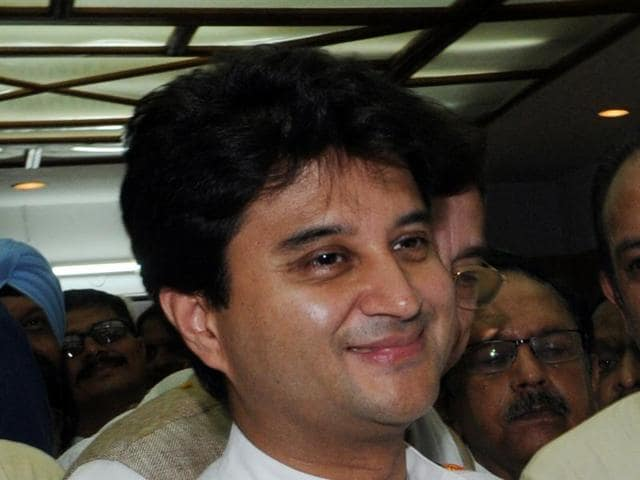 Jyotiraditya Scindia rued the PM doesn't speak about attacks in India, whether it is attacks on Dalits or the unrest in Kashmir.