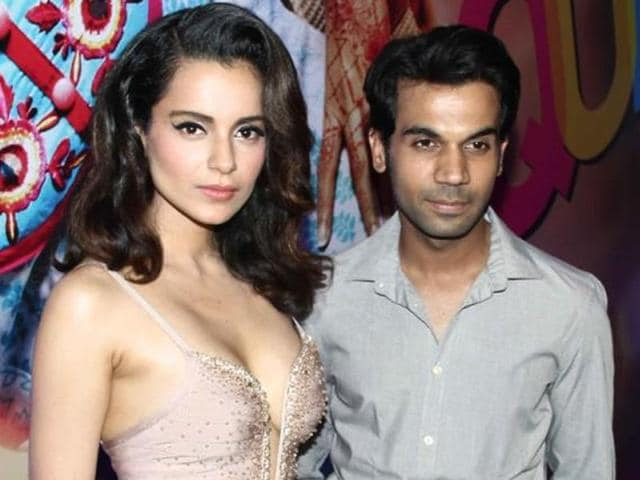 Kangana Ranaut and Rajkummar Rao  have worked together in Vikas Bahl's Queen.