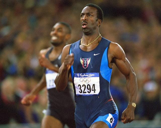 Almost twenty years to date, American Michael Johnson scorched the tracks in Atlanta, winning gold in both 200m and 400m and breaking two world records along the way -- the only male athlete to have aced the two events at the same Olympics.