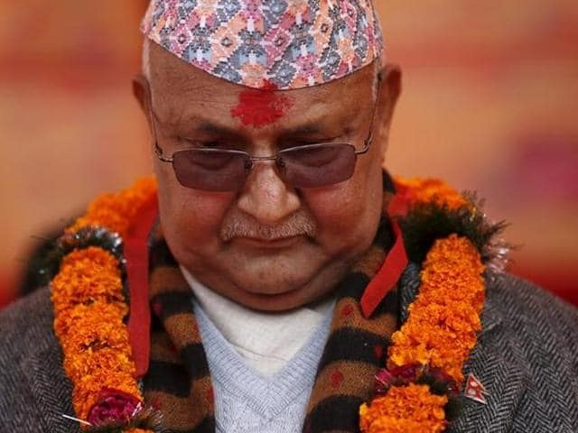 Nepal Prime Minister Khadga Prasad Sharma Oli quit just before a no-confidence vote on Sunday.