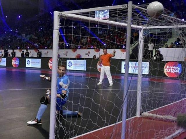 Mumbai 5's,Kochi 5's,Premier Futsal