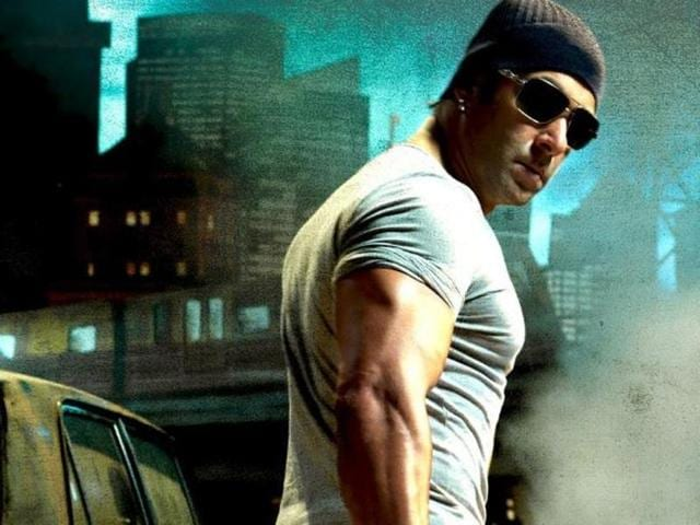 Salman reinvented himself with 2009 film Wanted. (YouTube)