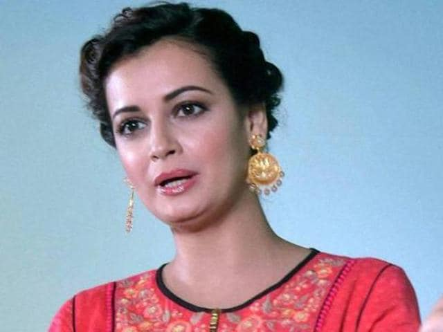 Dia made her debut in Bollywood with Rehnaa Hai Terre Dil Mein in 2001. (PTIPhoto)