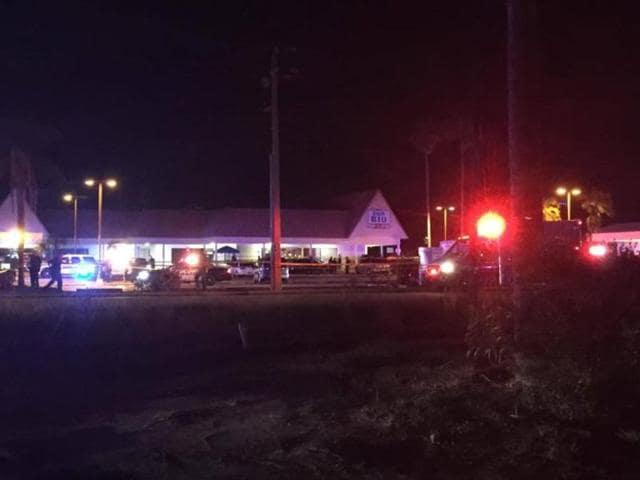 The shooting took place at Club Blu in the early hours of Monday morning.