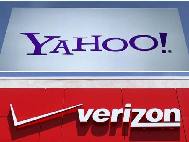 Verizon Communications Inc will announce buying out Yahoo Inc for about $5 billion on Monday.