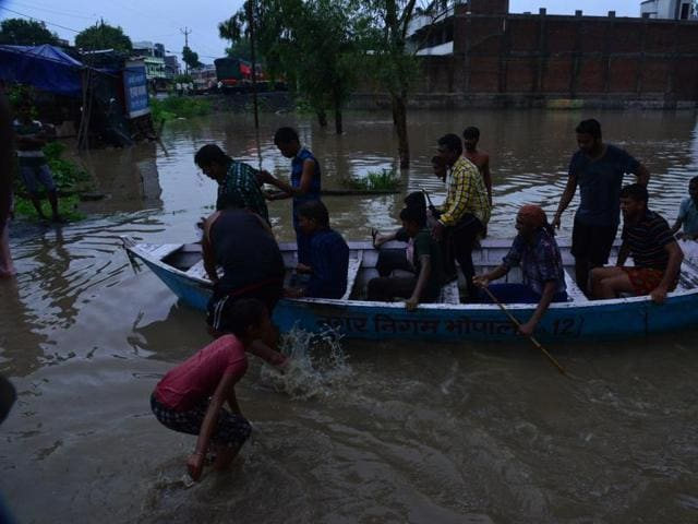 flood-related accidents in MP