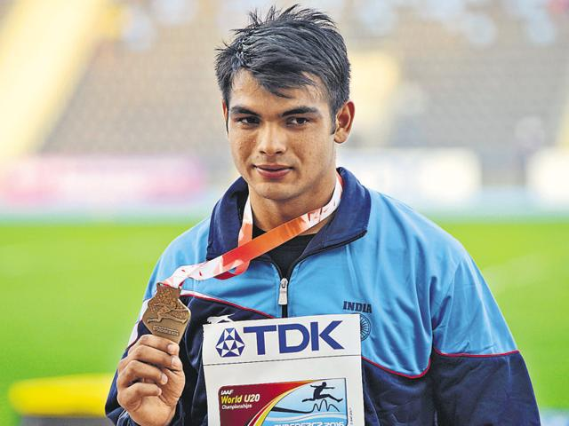 Neeraj bagged a gold medal with an effort of 86.48m at the IAAF World Under-20 Championships in Bydgoszcz, Poland.