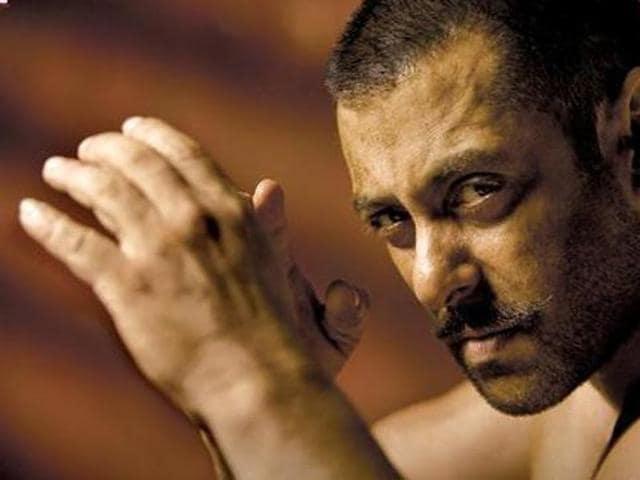 Salman played a wrestler Sultan Ali Khan in Sultan. (YouTube)