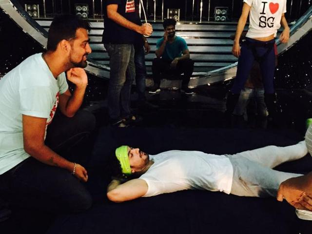 Arjun got back to his rehearsals just two hours after taking some pain killers.