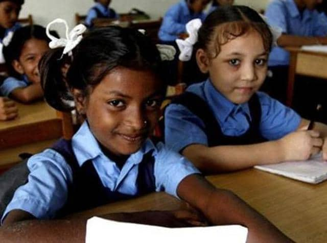 The decision was taken during a meeting between director school education (DSE) Rubinderjit Singh Brar and representatives of private schools on Monday.(HT File Photo)