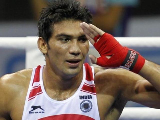 Afile photo of Indian boxer Manoj Kumar.