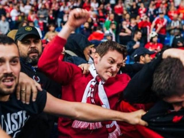 Liverpool and Sevilla were fined by UEFA on Monday following crowd trouble before and during the Europa League final.